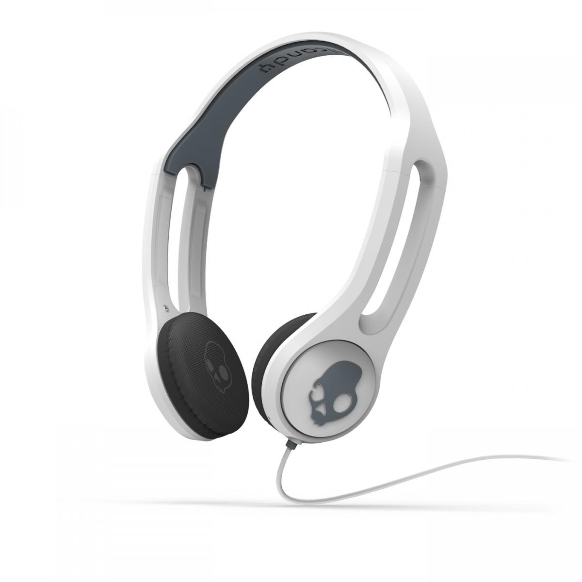 Fone de Ouvido c/ Microfone ICON3 Branco com Toque na Concha para Smartphones S5IHDY-072 - Skullcand