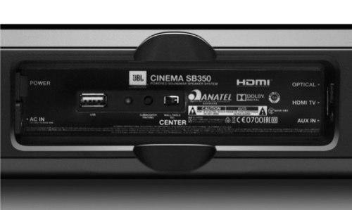 Soundbar Cinema SB350 Bluetooth com Subwoofer Ativo 320W RMS - JBL