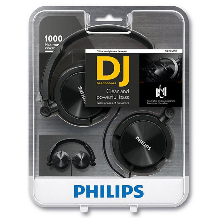 Headphone SHL3050BK/00 Preto DJ - Philips