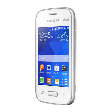Smartphone Galaxy Pocket 2 Duos SM-G110B, Proc 1Ghz, Andr 4.4, Tela 3.3, 4GB, Câm 2MP, 3G, Dual Chip, Branco - Samsung
