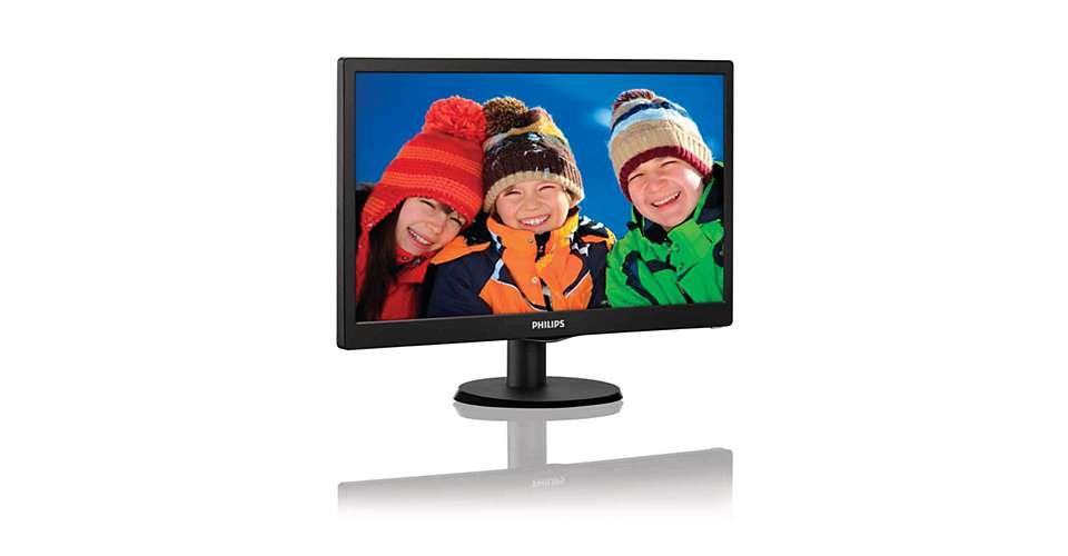 Monitor LED 18.5 Widescreen 193V5LSB2 - Philips