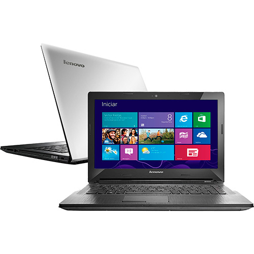 Notebook G40-70 Intel Core I5 4GB HD 1TB Video Dedicado AMD R5 M230 2GB LED 14 Windows 8.1 - Lenovo