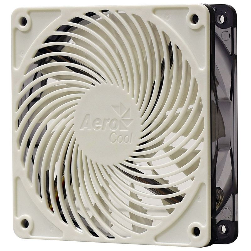 Cooler para Gabinete 12CM LED Branco AIR FORCE EN51462 - Aerocool