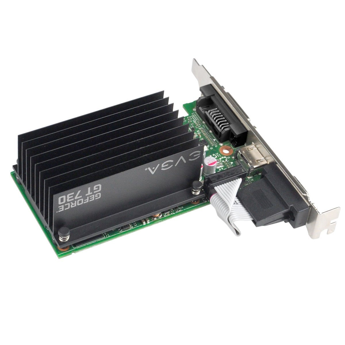 Placa de Vídeo Geforce GT730 1GB DDR3 64Bits 01G-P3-1731-KR - EVGA