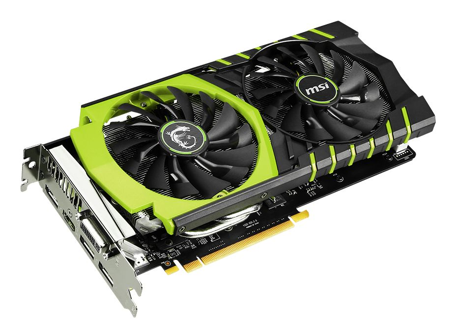 Placa de Vídeo Geforce GTX960 Gaming 100ME 2GB DDR5 128Bit - MSI