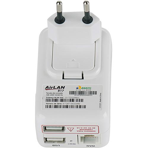 Roteador Portátil Airlan 817 150Mbps USB/RJ45 - Opticom