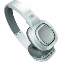 Fone de Ouvido com Microfone J55i Branco/Prata - JBL