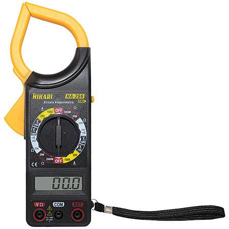 Alicate Amperimetro HA-266 - Hikari