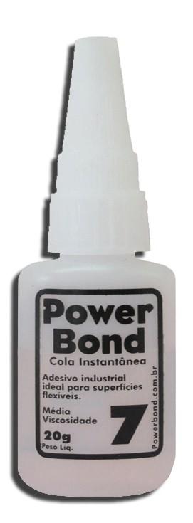 Cola Instantânea Power Bond 20G - Fixar