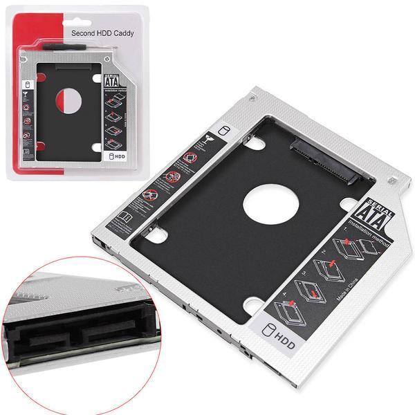 Adaptador Universal para DVD, HD, SSD 12.7mm AD0311 - OEM