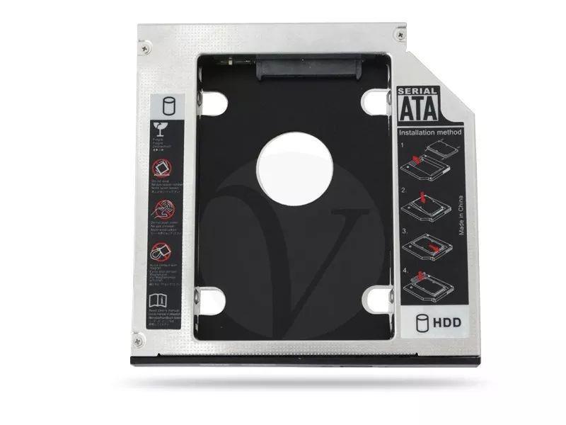 Adaptador Universal para DVD, HD, SSD 12.7mm AD0311KP KP-HD009 - Knup
