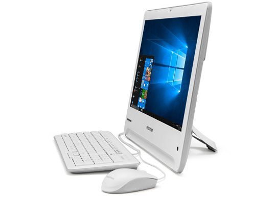 All in One Union 18 Intel Celeron Dual Core Mem 4GB HD 500GB Tela 18.5 Linux UDI3150 - Positivo