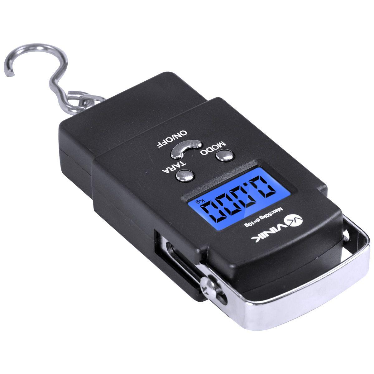 Balança Digital de Bagagem até 50KG BD-50 26367 - Vinik