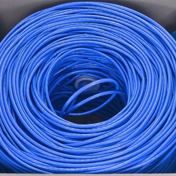 Cabo de Rede 24 AWG 4 Pares Trançados 305 Metros Azul 26873 - Vinik