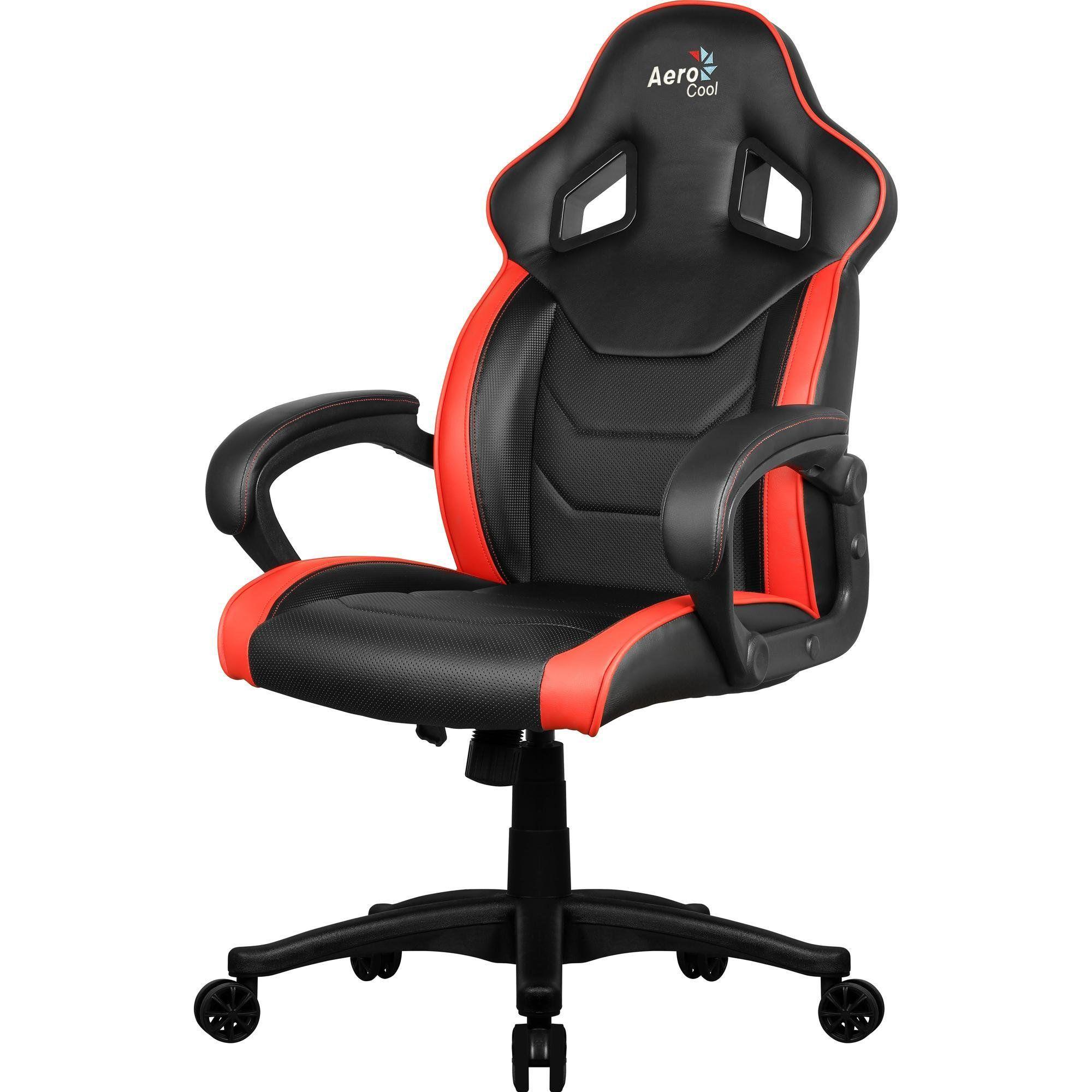Cadeira Gamer AC60C AIR EN57730 Preto/Vermelho - Aerocool