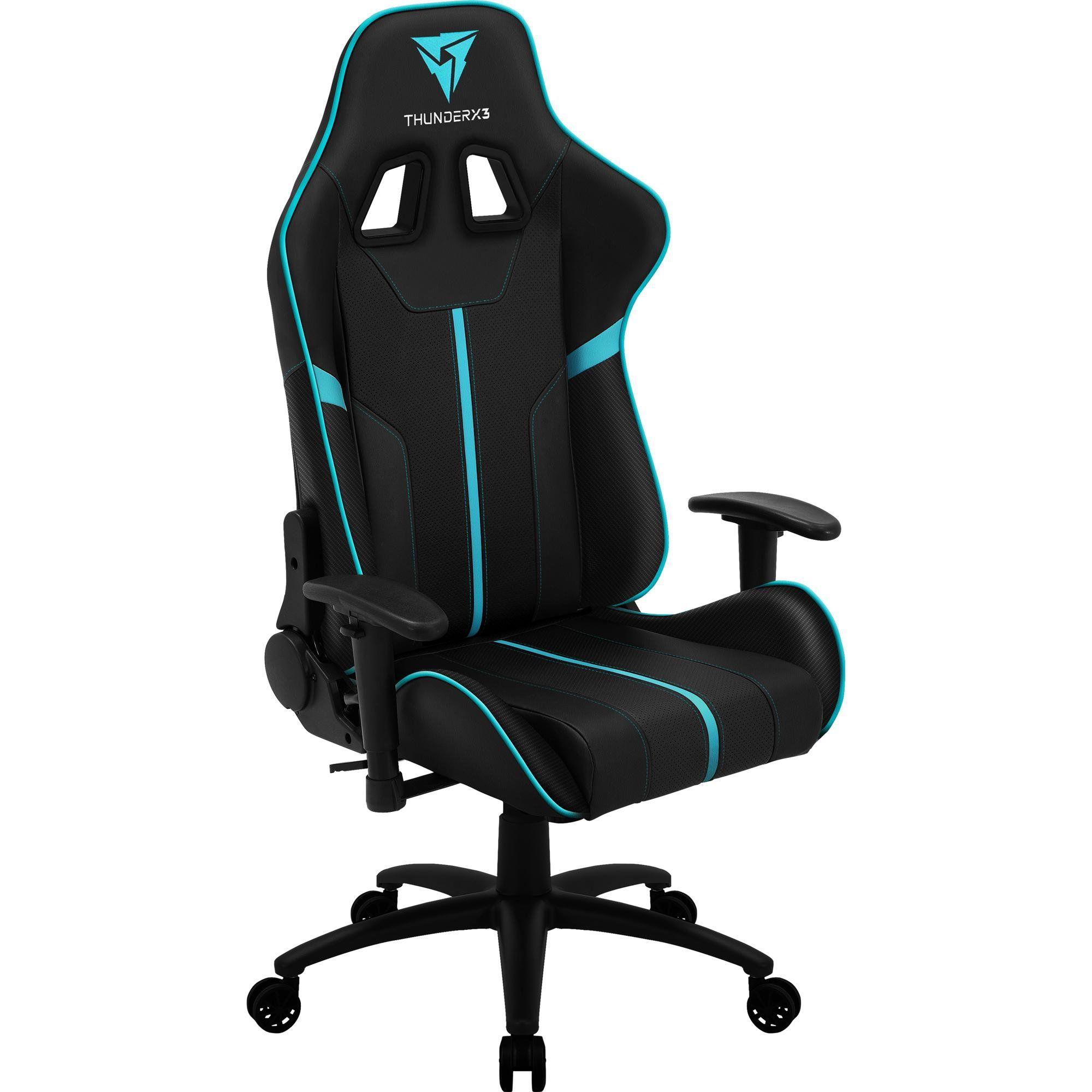 Cadeira Gamer BC3 Ciano 67993 - THUNDERX3