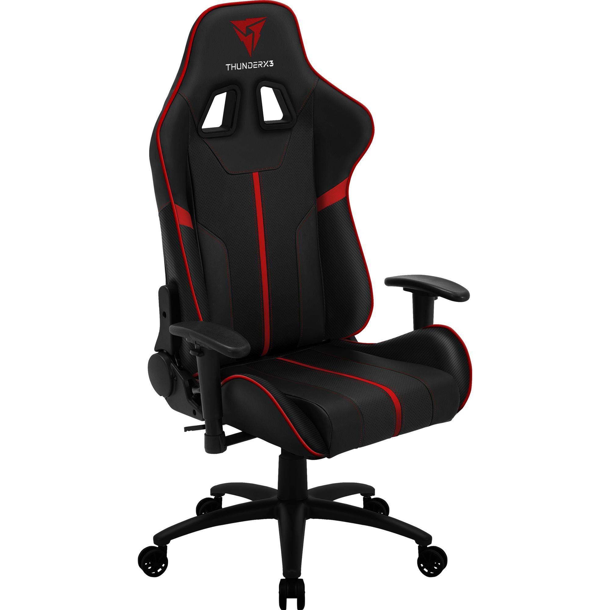 Cadeira Gamer BC3 Preta/Vermelha 67992 - THUNDERX3