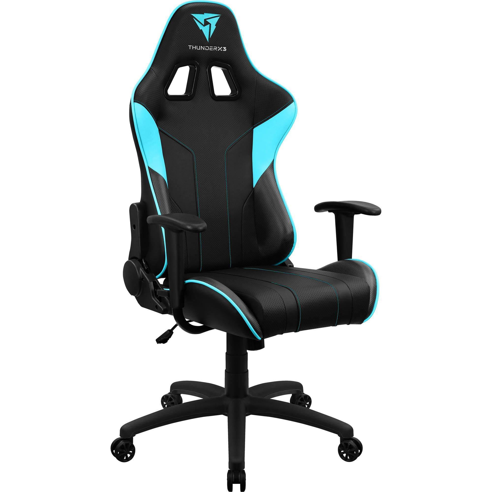 Cadeira Gamer EC3 Cyan 68000 - THUNDERX3