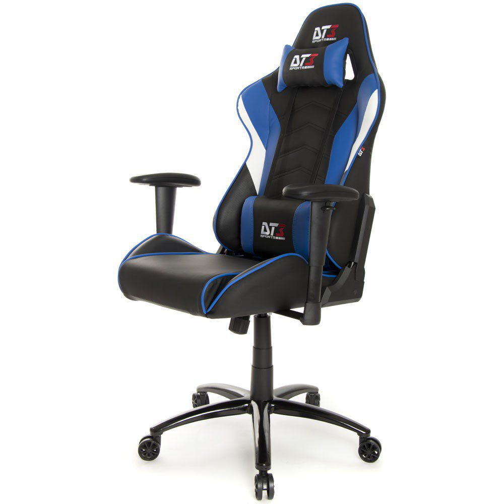 Cadeira Gamer Elise Black Blue 10634-4 - DT3 Sports
