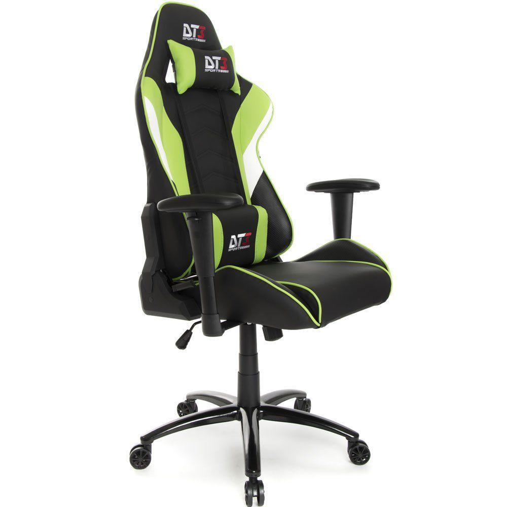 Cadeira Gamer Elise Light Green 10227-2 - DT3 Sports