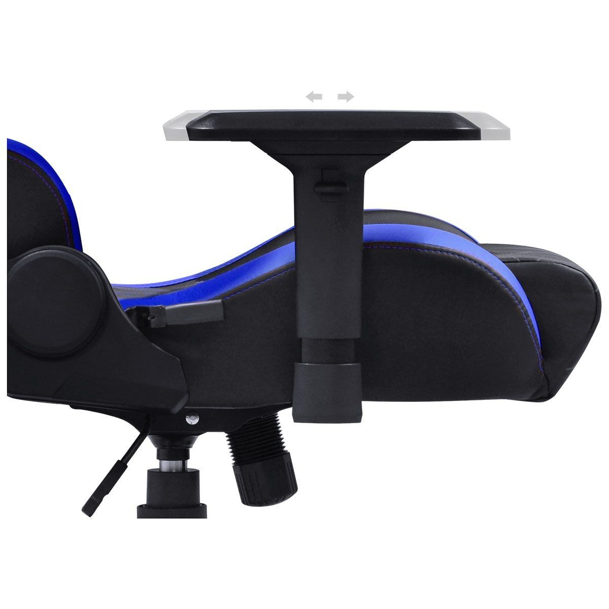 Cadeira Gamer Mad Racer V10 Preto/Azul MADV10AZGL - Pcyes