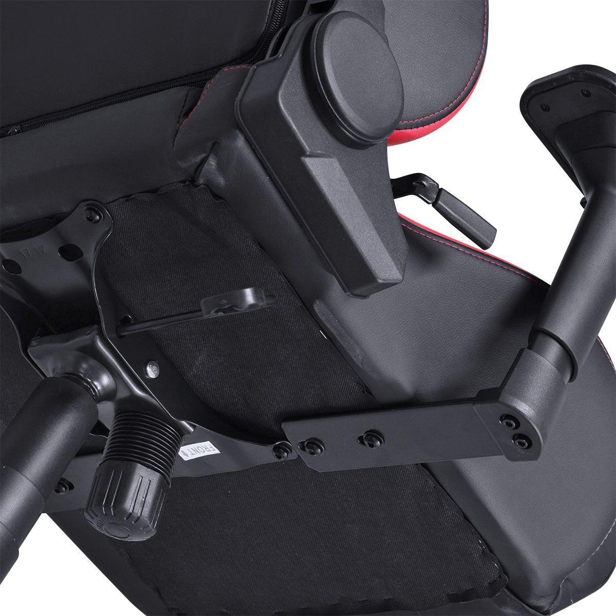 Cadeira Gamer Mad Racer V10 Preto/Vermelho MADV10VMGL - Pcyes