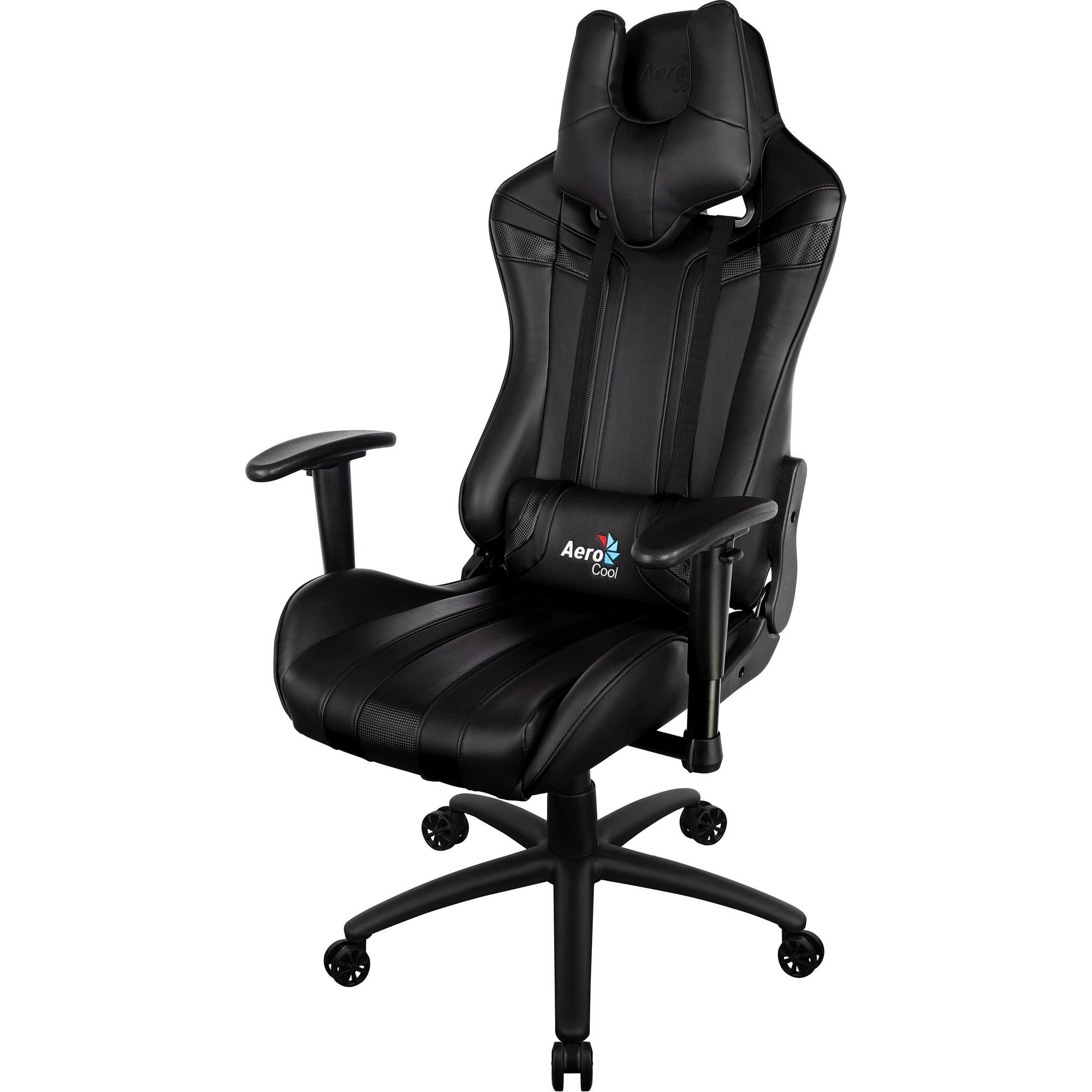 Cadeira Gamer Profissional AC120C Preta EN59633 - Aerocool