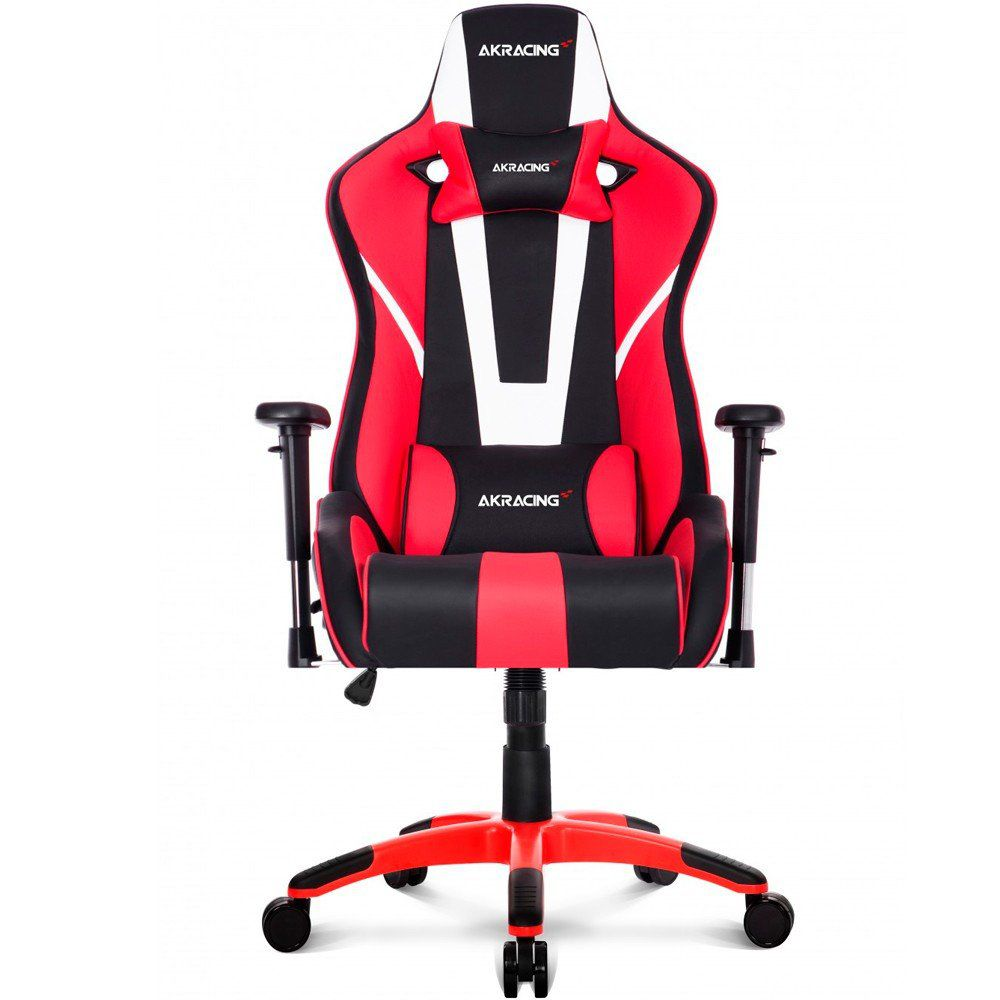 Cadeira Gamer XTRA BIGGER CP-6 Black White Red 10260-9 - AKRacing
