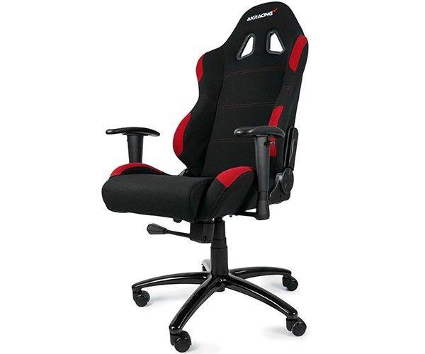 Cadeira Gaming Prime Preto/Vermelha 10088-7 - Akracing