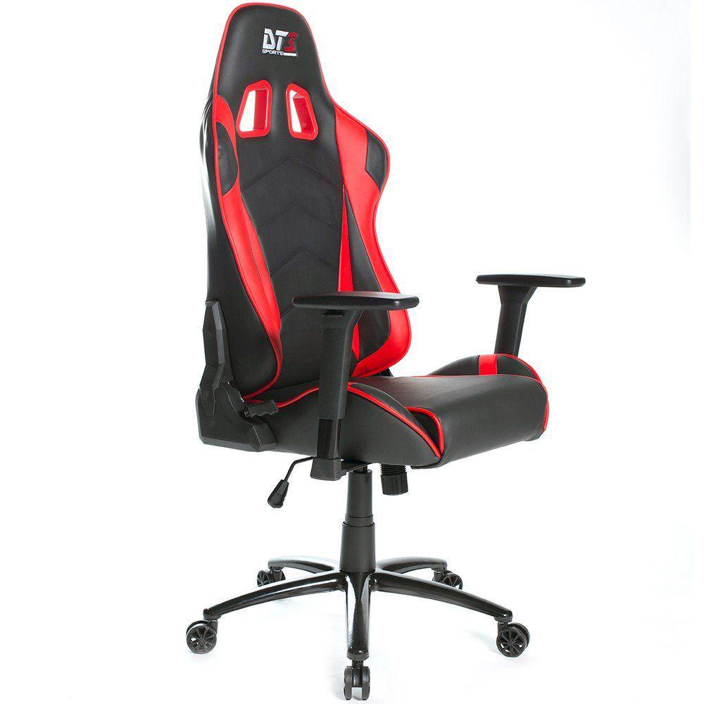 Cadeira Mizano Black Red 10500-6 - DT3 Sports