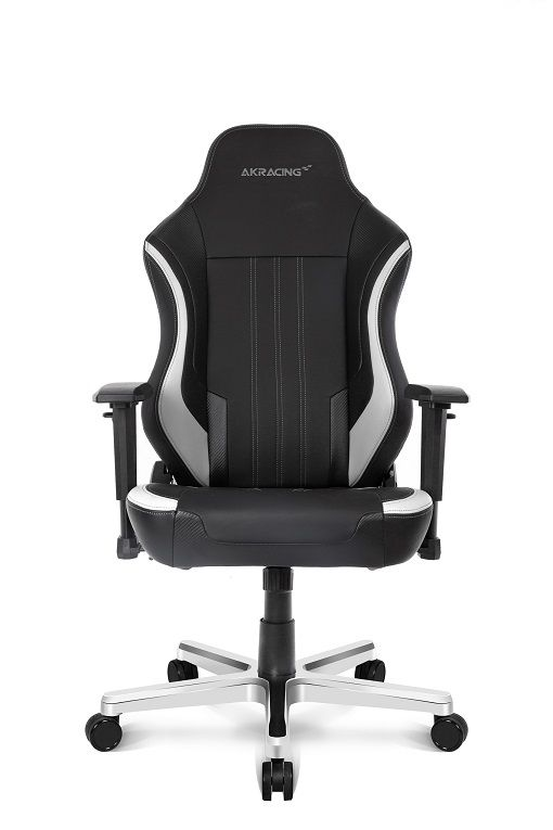 Cadeira Office Solitude Preto/Branca 11072-1 - AKRacing