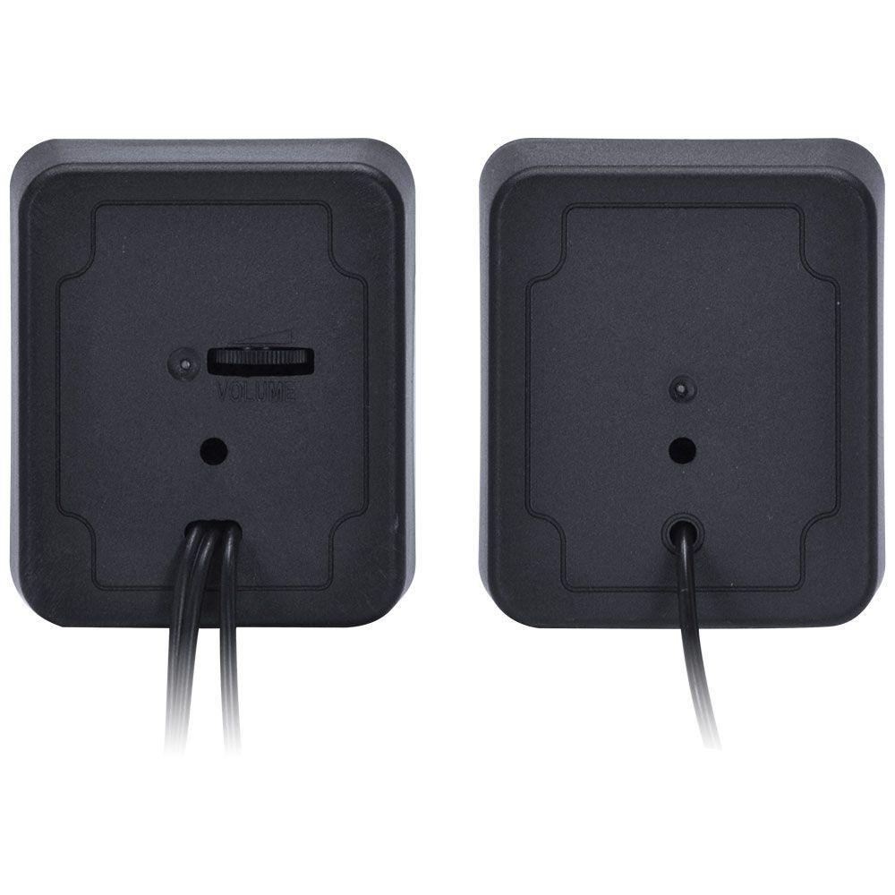 Caixa de Som 2.0 USB 5V 2X 1W com Controle de Volume VS-01 29384 - Vinik