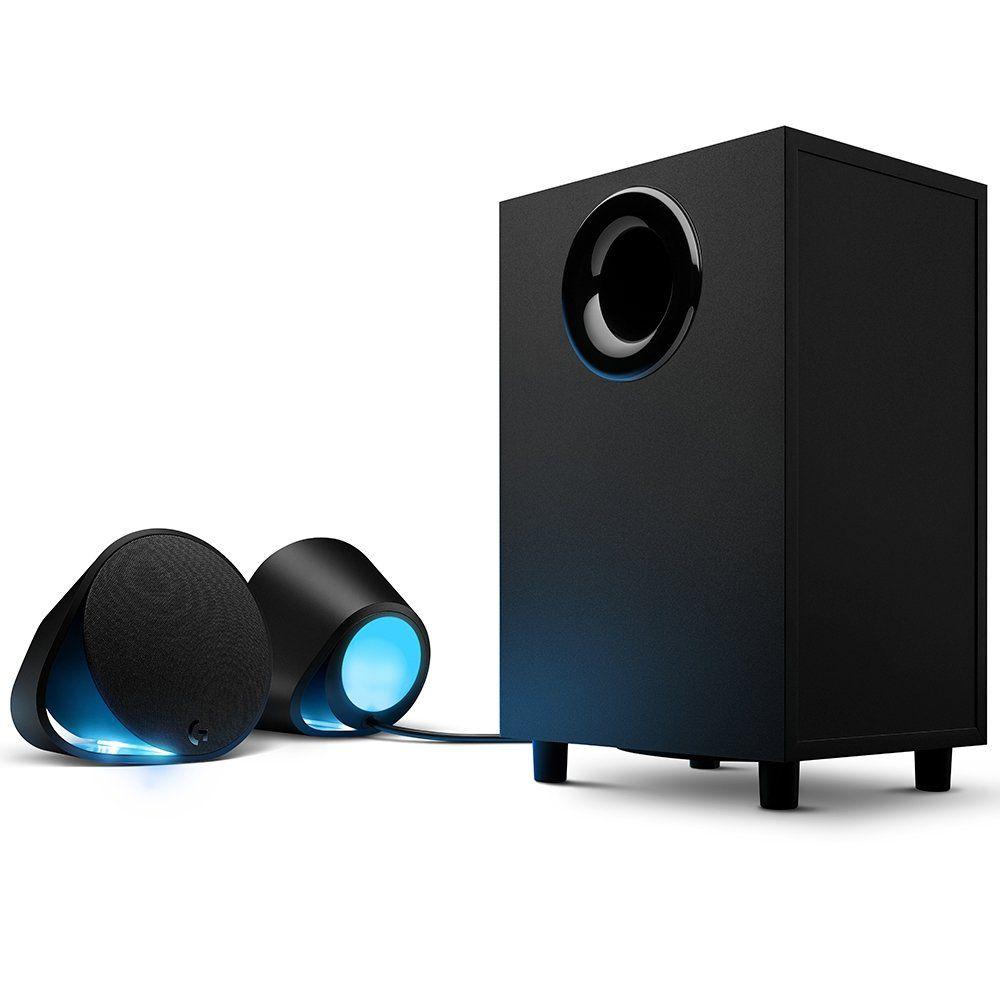 Caixa de Som Bluetooth G560 2.1 120W RMS Lightsync RGB 980-001310 - Logitech