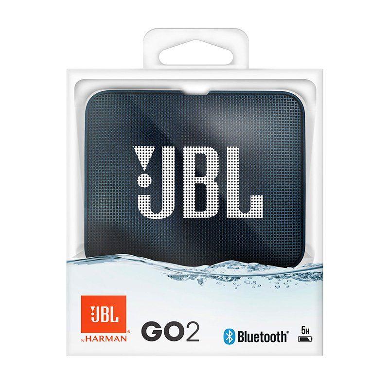 Caixa de Som Bluetooth JBL GO 2 (à prova dágua) Azul JBLGO2BLU - JBL