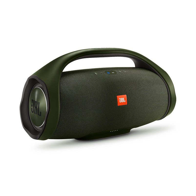 Caixa de Som Boombox Bluetooth 60W RMS Verde JBLBOOMBOXGRNBR - JBL