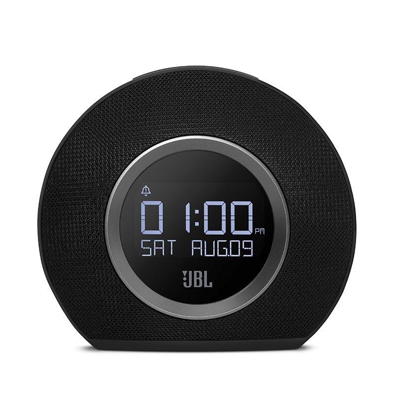 Caixa de Som Horizon Bluetooth (Rádio-Relógio com Luz LED) JBLHORIZONBLKEU - JBL