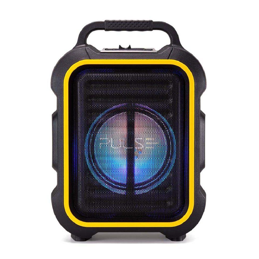 Caixa De Som Multiuso BT/FM/AUX/SD/USB/MIC SP295 - Pulse