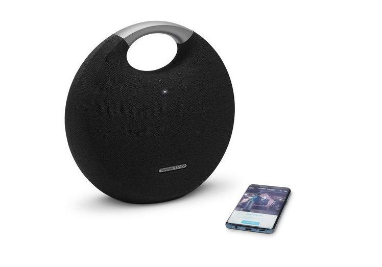 Caixa de Som Onyx Studio 5 50W RMS Bluetooth Preta HKOS5BLKBR - Harman Kardon