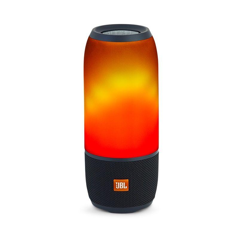 Caixa de Som Pulse 3 Bluetooth com Iluminação em LED JBLPULSE3BLKEU - JBL