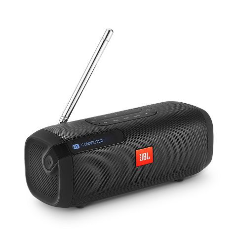 Caixa de Som Tuner FM Bluetooth 5W RMS Preta JBLTUNERFMBLKBR - JBL
