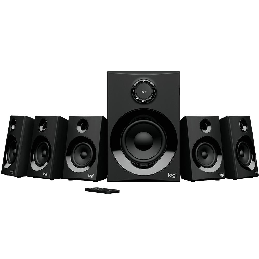 Caixa de Som  Z607 5.1 Surround, Bluetooth, 160W 980-001321 - Logitech