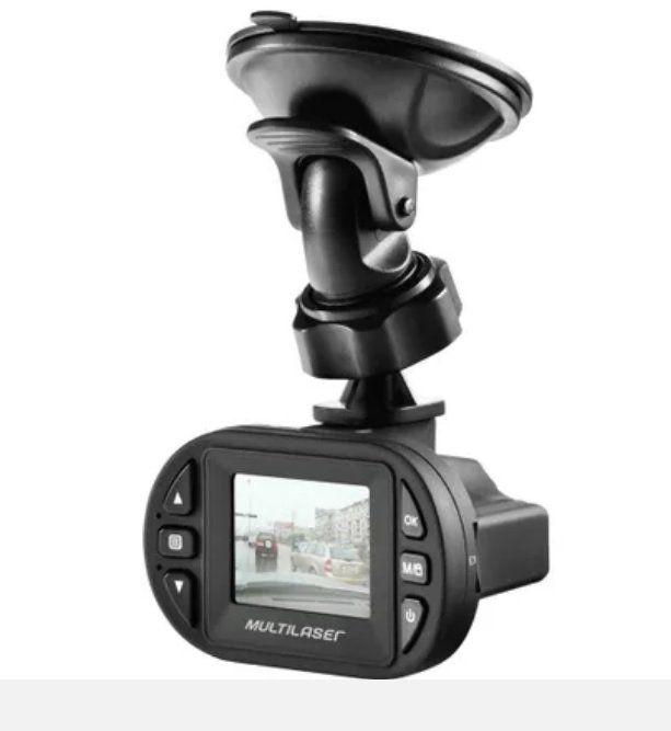 Câmera Automotiva Full HD com Sensor de Impacto de Colisão (Foto + Visão Noturna) AU013 - Multilaser