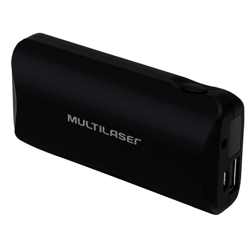 Carregador Portátil 4500Ah CB092 Preto - Multilaser