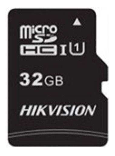 Cartão de Memória Micro SD + Adaptador SD 32GB Class 10 HS-TF-C1/32GB - Hikvision