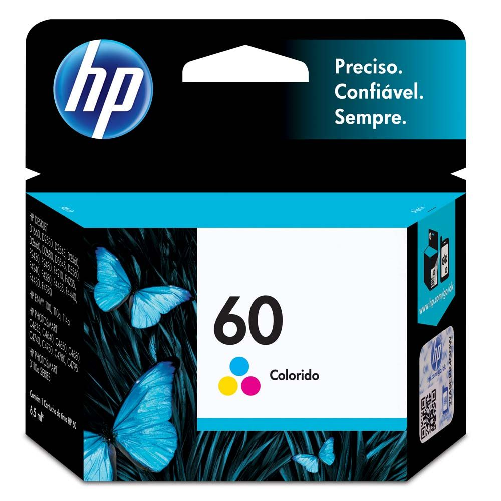 Cartucho 60 color CC643WB - HP