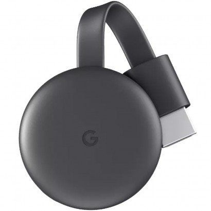 Chromecast 3 Full Hd Wireless Hdmi Preto GA00439-US - Google