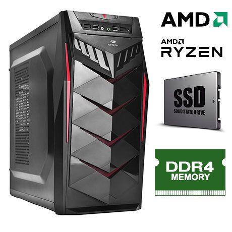 Computador AMD Ryzen 3 2200G 3.5Ghz 6MB Memória 8GB DDR4 SSD 120GB Fonte 350W