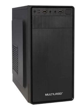 Computador Básico Intel Celeron Dual Core, 4GB de Memória, SSD 120GB e Fonte de 200W - Glacon