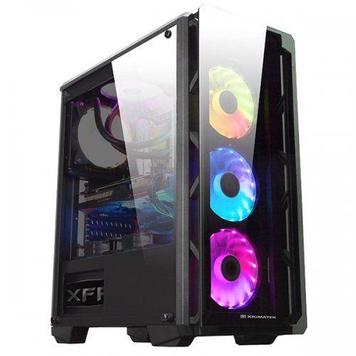 Computador Intel Core i5 9600K 16GB DDR4 RGB SSD 480GB RX580 8GB DDR5 Fonte 600W Gabinete RGB