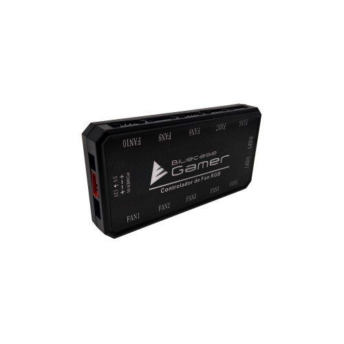 Controlador de fan RGB com controle remoto BCF-01 - Bluecase Gamer
